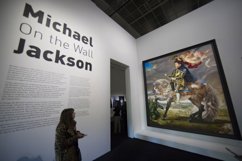 michael jackson exibition